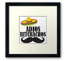 ADIOS Framed Print