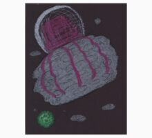 Giant Space Jellyfish 2 Oil & Pastels Kids Clothes