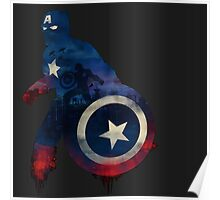 Captain America - Stars and Stripes Poster