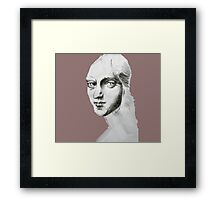 eyes to the past  Framed Print