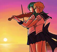 Sailor Romance by playerprophet