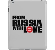 From Russia With Equal Love iPad Case/Skin