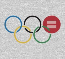 Olympic Equal Love Rings Kids Clothes