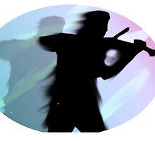 Violinist by Aidan O'Hagan
