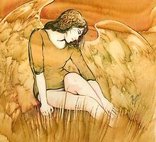 """""""Moment of Rest"""" from the series """"Everyday Angel"""" by Anna Miarczynska"""