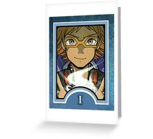 Persona Arcana - Yosuke the Magician Greeting Card