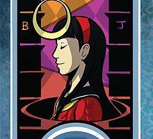 Persona Arcana - Yukiko the Priestess by playerprophet