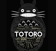 Totoro letter by LTEP