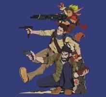 Naughty Dog - Drake, Joel, Jak T-Shirt