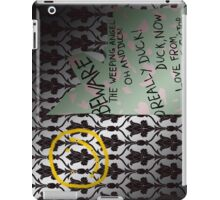 221 Beware iPad Case/Skin