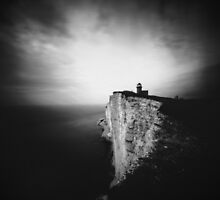 Belle Tout Lighthouse. Pinhole photo by willgudgeon