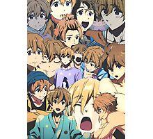nagisa hazuki collage Photographic Print