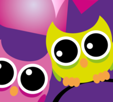 Loveowls Sticker
