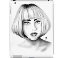 Lady Gaga - Portrait 01 iPad Case/Skin