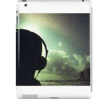 Ibiza house music chillout DJ deejay 35mm xpro cross processed lomographic film lomography analog photo iPad Case/Skin