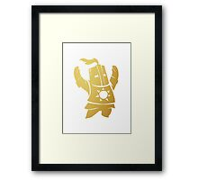 Solaire of Astora Gold Edition Framed Print
