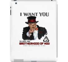 Command and Conquer NOD - Kane wants you iPad Case/Skin