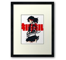 KILL LA KILL - REBEL WITH THE RED STREAK Framed Print