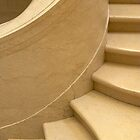 Curving staircase by Morag Anderson