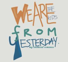 My Chemical Romance - The kids from yesterday by sparedhearts