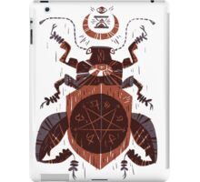 Spilling Time - Beetle Two - Red iPad Case/Skin