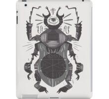 Eye of the Gods - Beetle Three - grey iPad Case/Skin