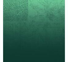 Jade Map Photographic Print
