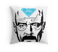 Walter White: Highly Explosive Throw Pillow