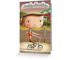 Happy Birthday (Malvern Star) Greeting Card