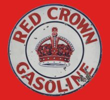 Red Crown Gasoline by Museenglish