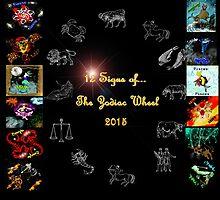 12 Zodiac Signs 2015 by Trinton TrinityHawk Garrett