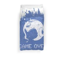 It's Game Over Mega Man, Game Over! Duvet Cover
