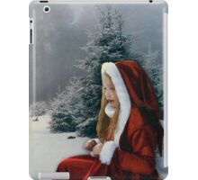 White Winter Hymnal iPad Case/Skin