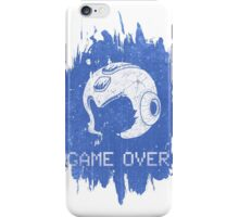 It's Game Over Mega Man, Game Over! iPhone Case/Skin