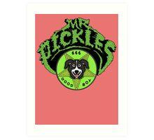 Mr. Pickles Full Art Print