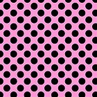 Pink with Black Dots by Greenbaby