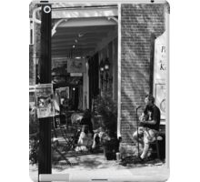 Downtown Roswell, Ga Saturday Afternoon iPad Case/Skin