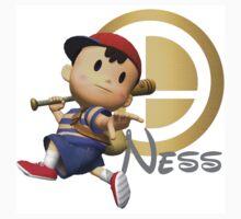 Ness Super Smash Bros by SwarmTrooper
