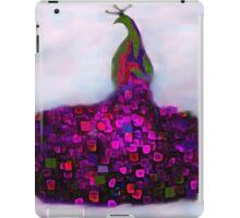 Peacock Fantasy Purple and Green iPad Case/Skin