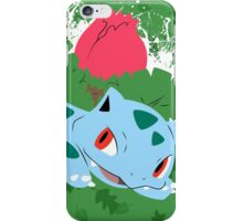 Ivysaur Splatter iPhone Case/Skin