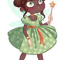 La petite fée verte by princessebarbar