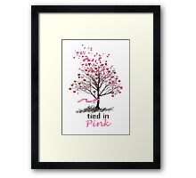 Tied in Pink Anthology merchandise Tee Shirts Framed Print