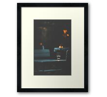 Dateless Framed Print