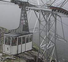 WERE EAGLES FLY,WE ARRIVED TOO - This is our cable car -ITALY - EUROPA- VETRINA RB EXPLORE 25 SETTEMBRE 2013 -                         A by Guendalyn