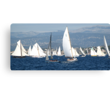 FROM THE SEA TO THE LAND, FROM THE LAND TO THE SEA.CANNES-FRANCIA -EUROPA- All rb Group of Boats and Sailing lovers -  VETRINA RB EXPLORE 16 OTT.2012 Canvas Print