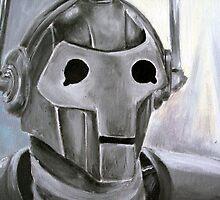 Dr Who Villains No.6 :Cyberman by debzandbex