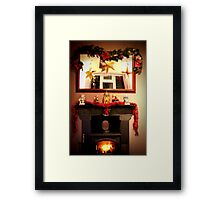 Home is where the hearth is Framed Print