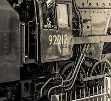 Historic locomotive 92212 by bms-photo
