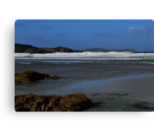 Anagry Beach, Co Donegal. 4 Canvas Print