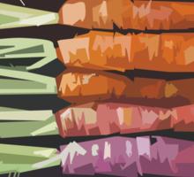 Color Carrots Sticker